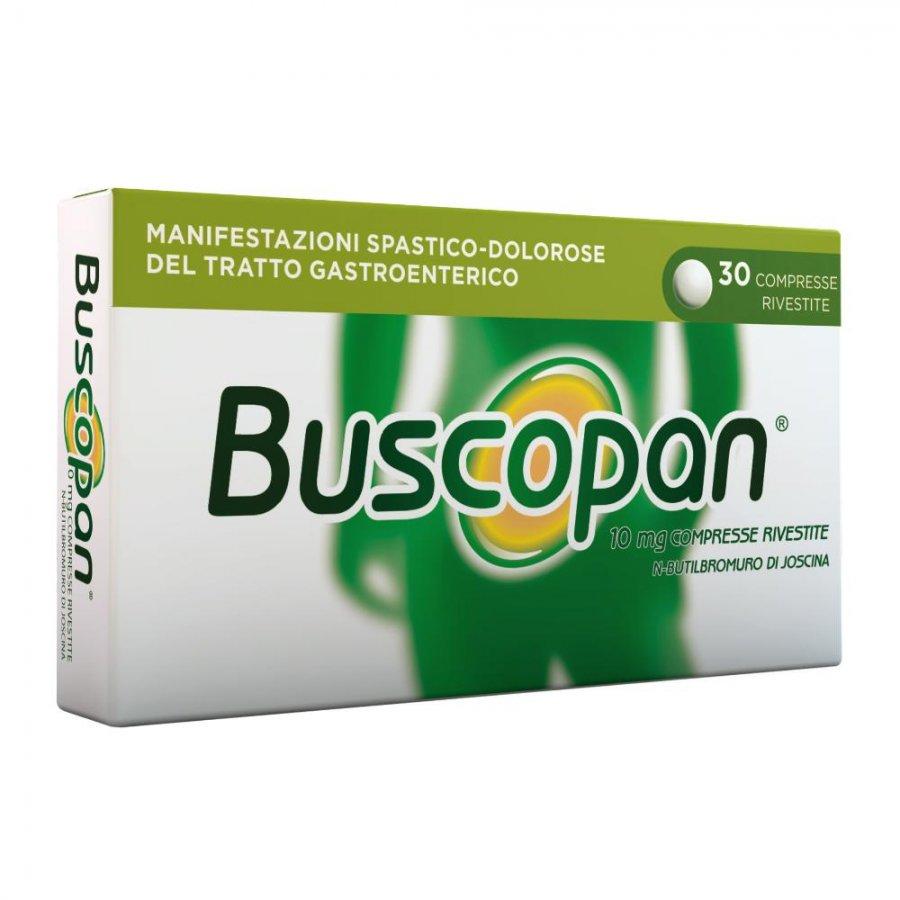 BUSCOPAN * 30 COMPRESSE CPR RIVESTITE 10MG