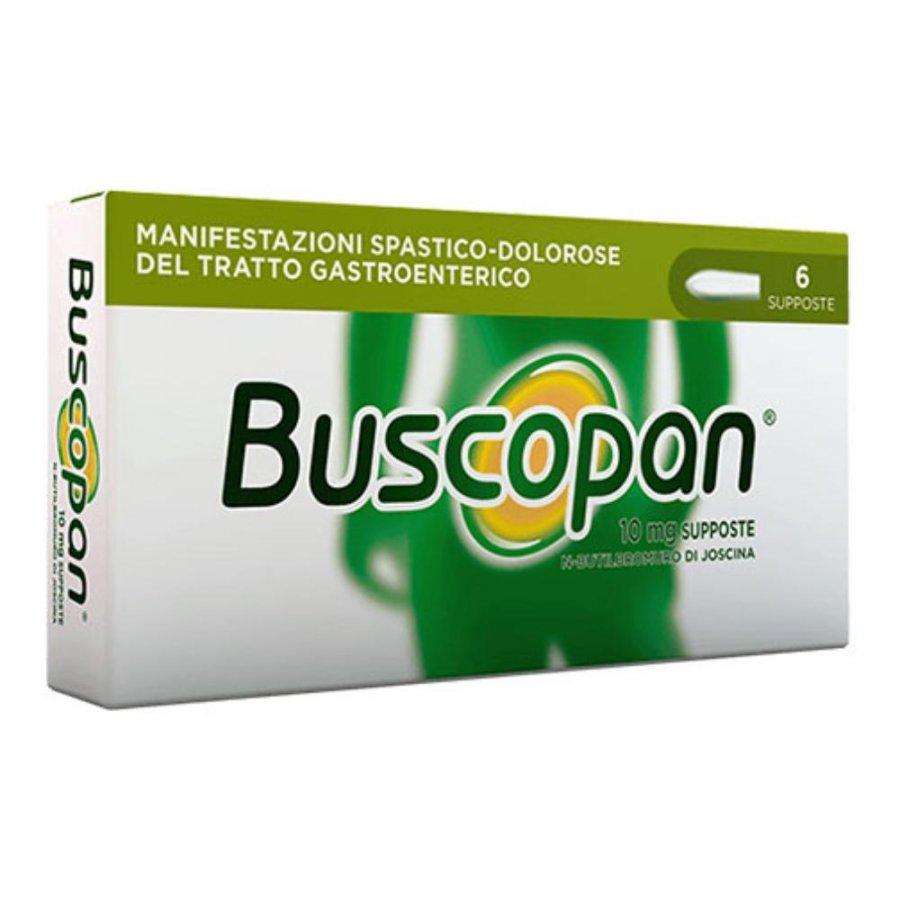 BUSCOPAN * 6 SUPPOSTE 10MG