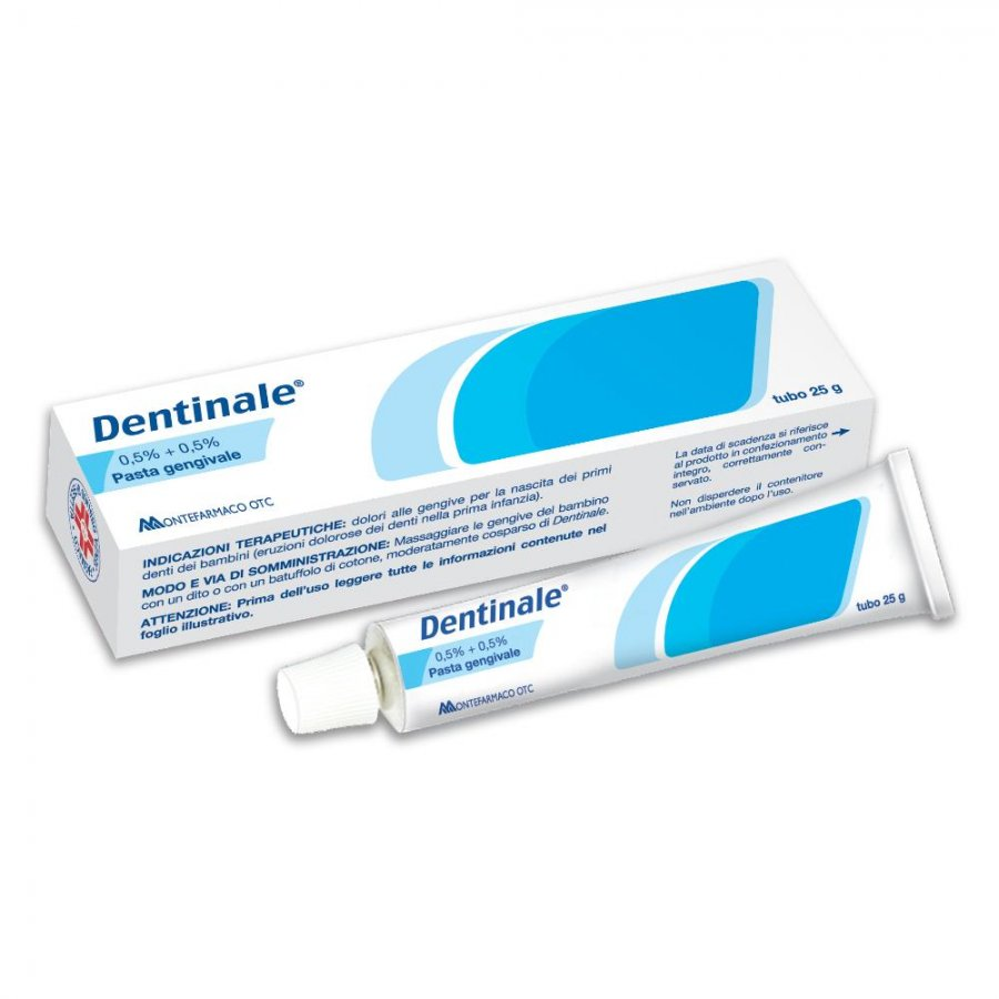 Dentinale Pasta Gengivale 25g - Montefarmaco Otc