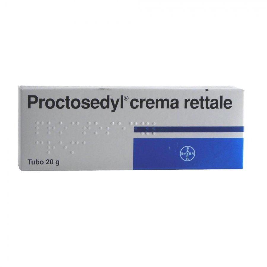 PROCTOSEDYL CREMA RETTALE * POMATA 20G