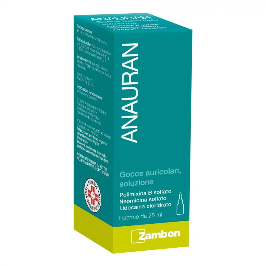 Anauran Gocce Auricolari 25 ml