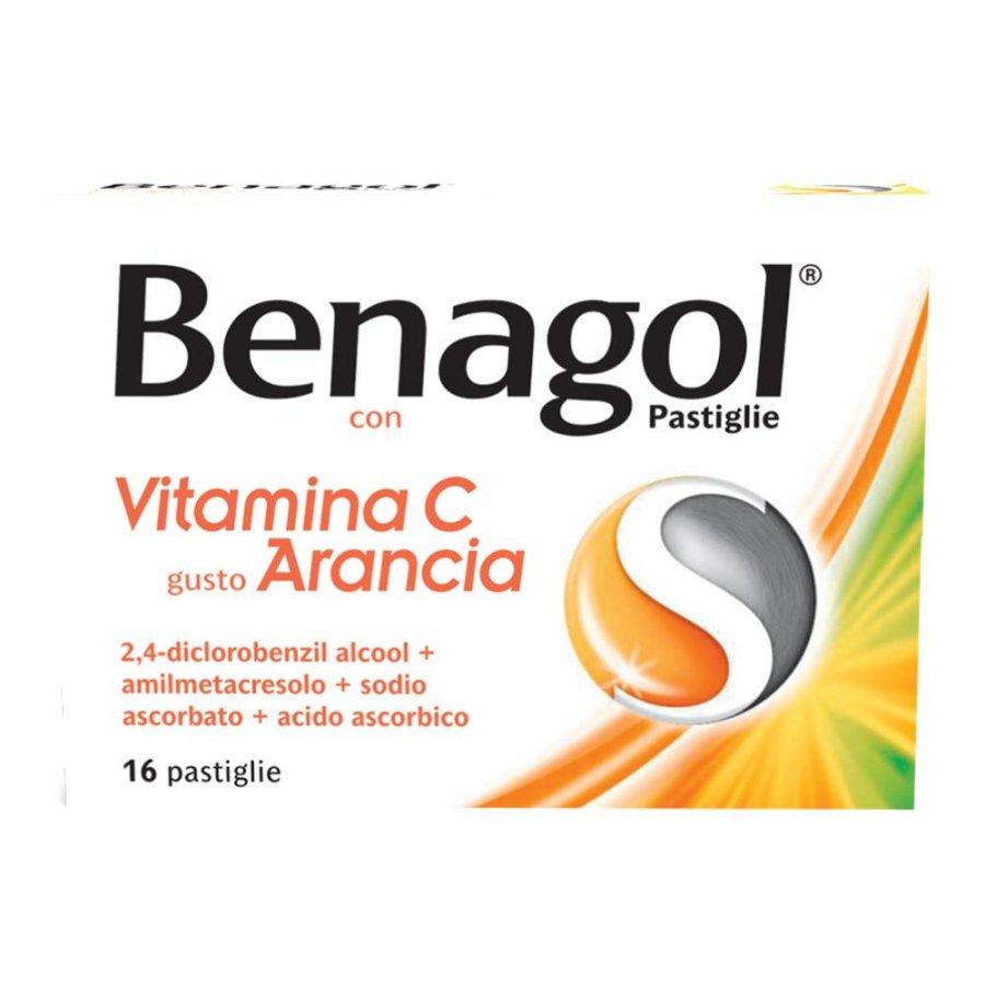 Benagol Vitamina C - 16 Pastiglie Gusto Arancia - RECKITT BENCKISER H.(IT.) SpA