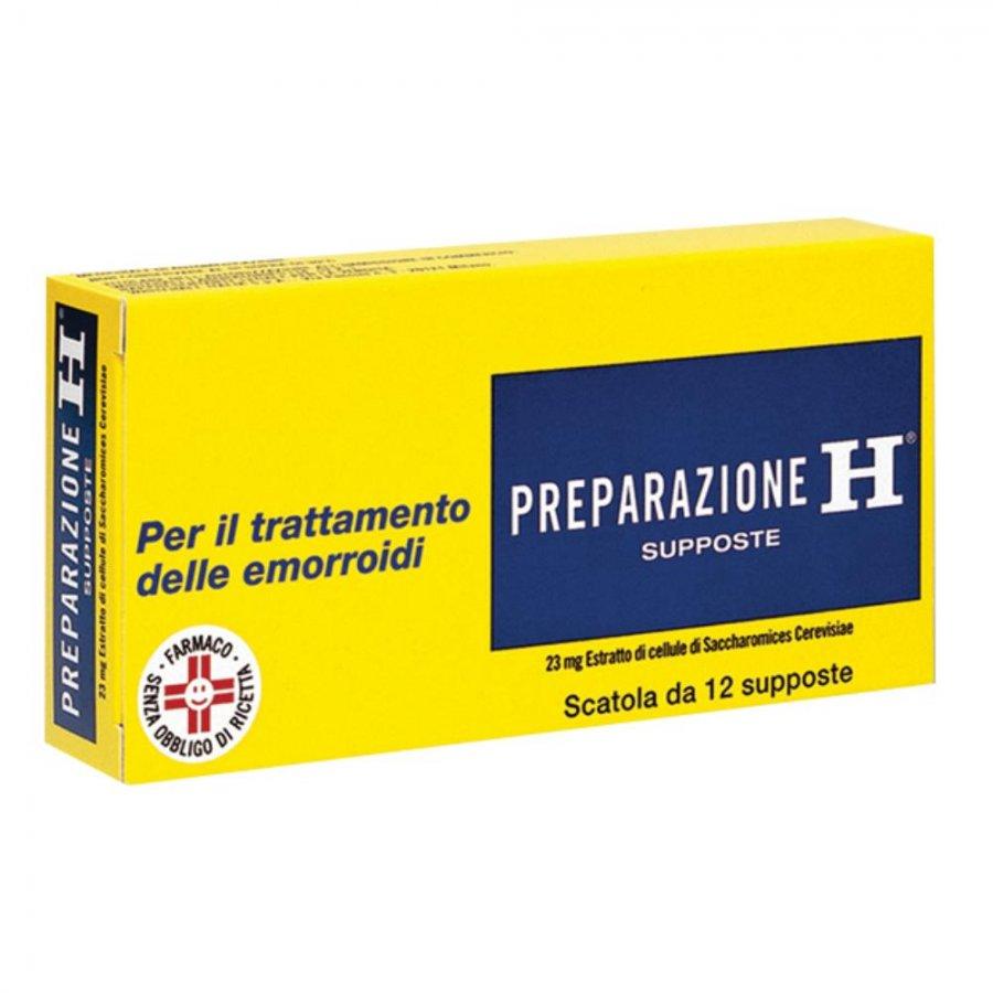 PREPARAZIONE H*12SUPP 23MG