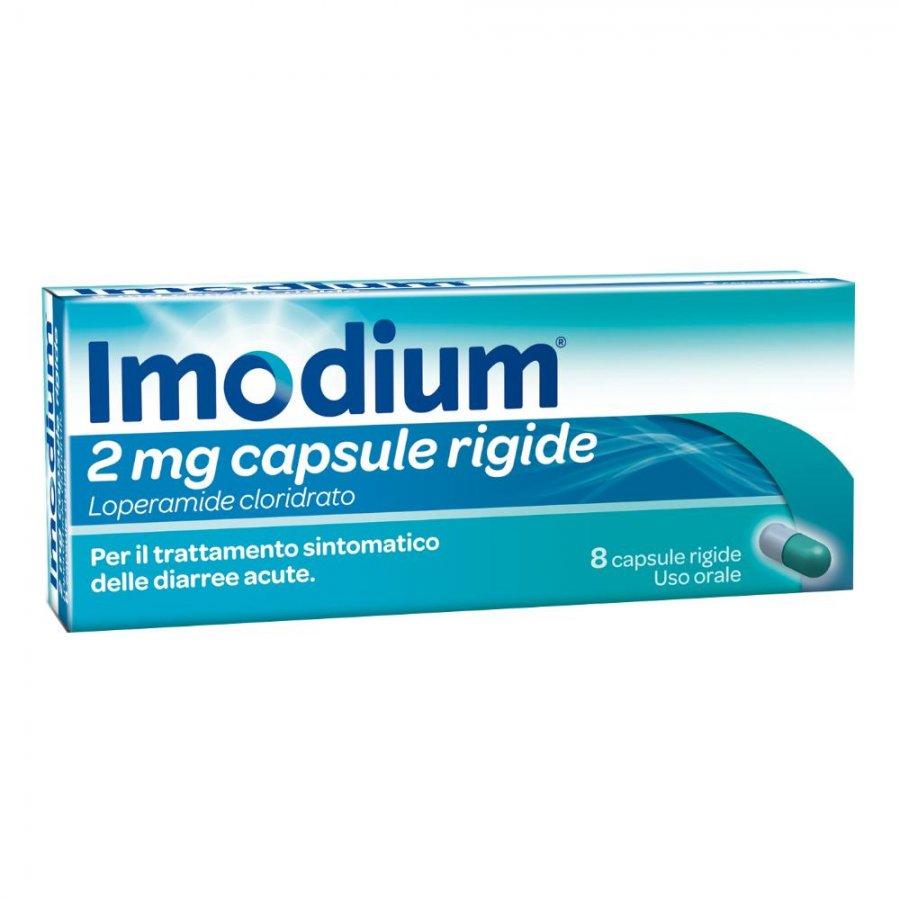 Imodium 2mg Integratore Alimentare 8 Capsule Rigide PRODOTTO ITALIANO