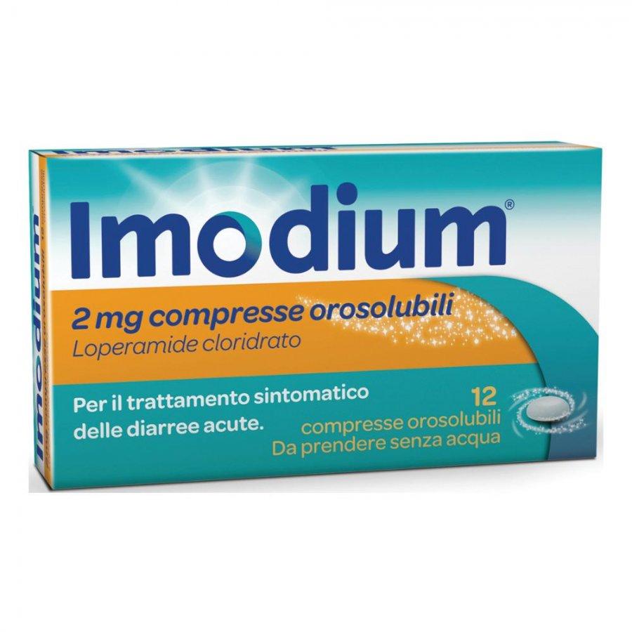 IMODIUM * 12 COMPRESSE CPS CPR OROSOL 2MG