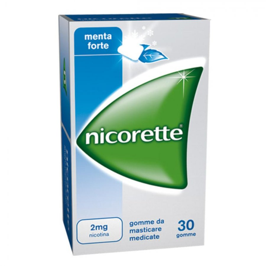 Nicorette 30 Gomme Masticabili da 2 Mg