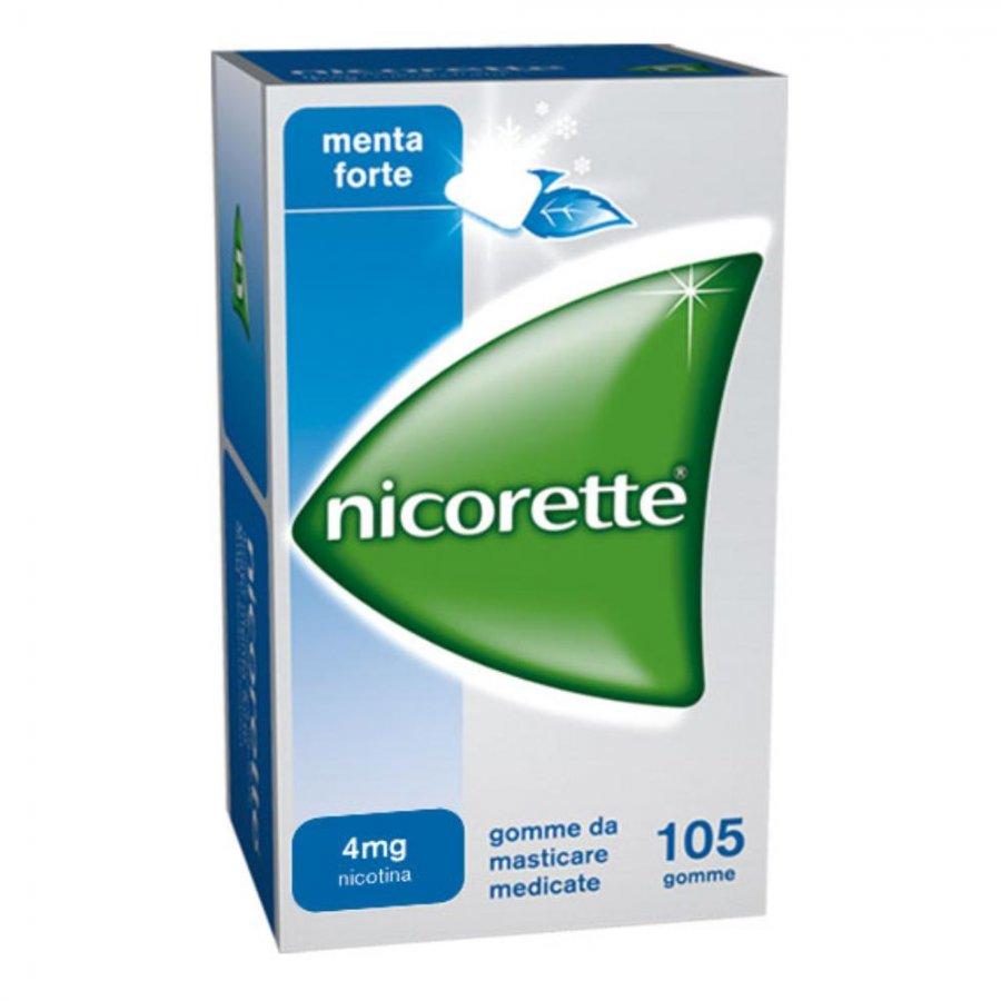 Nicorette 4mg Menta 105 Gomme Da Masticare