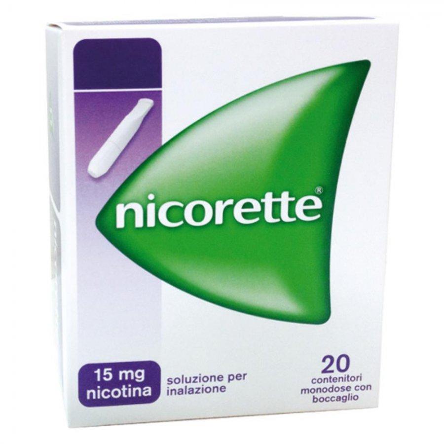 NICORETTE INHALER 20 Fiale 1D 15 MG