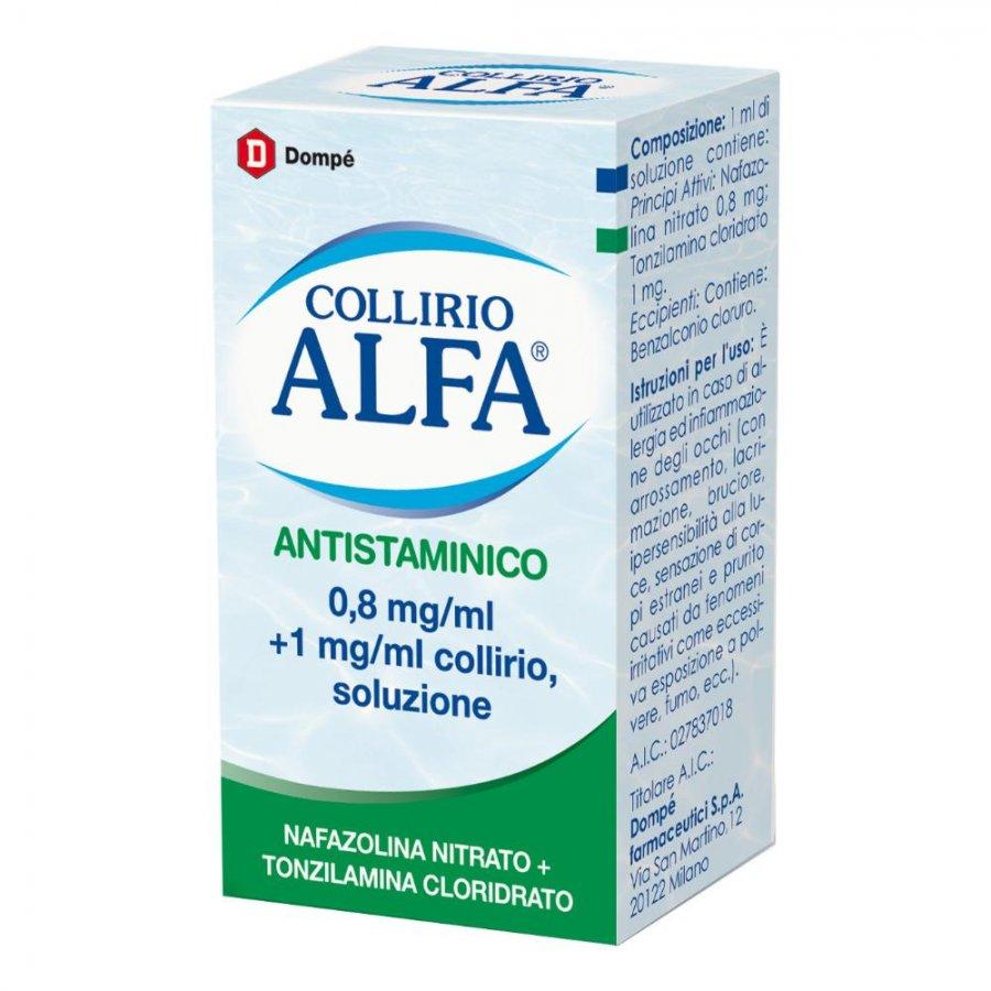 COLLIRIO ALFA ANTISTAMINICO * 10ML