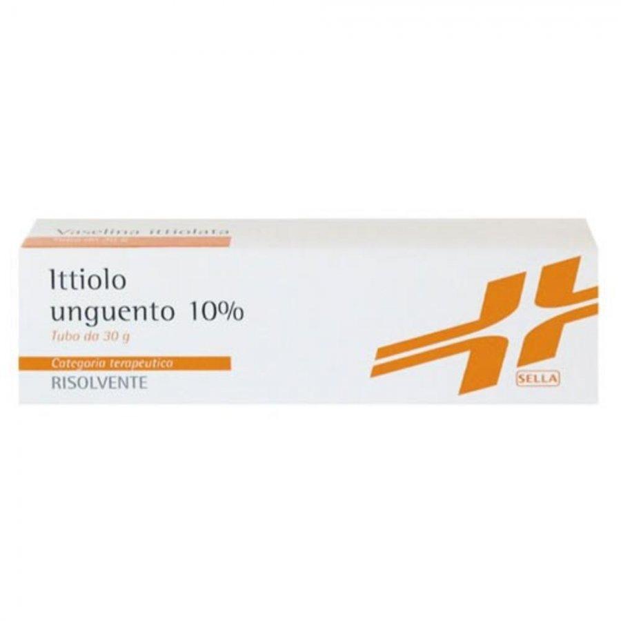 ITTIOLO SELLA*10% UNG 30G