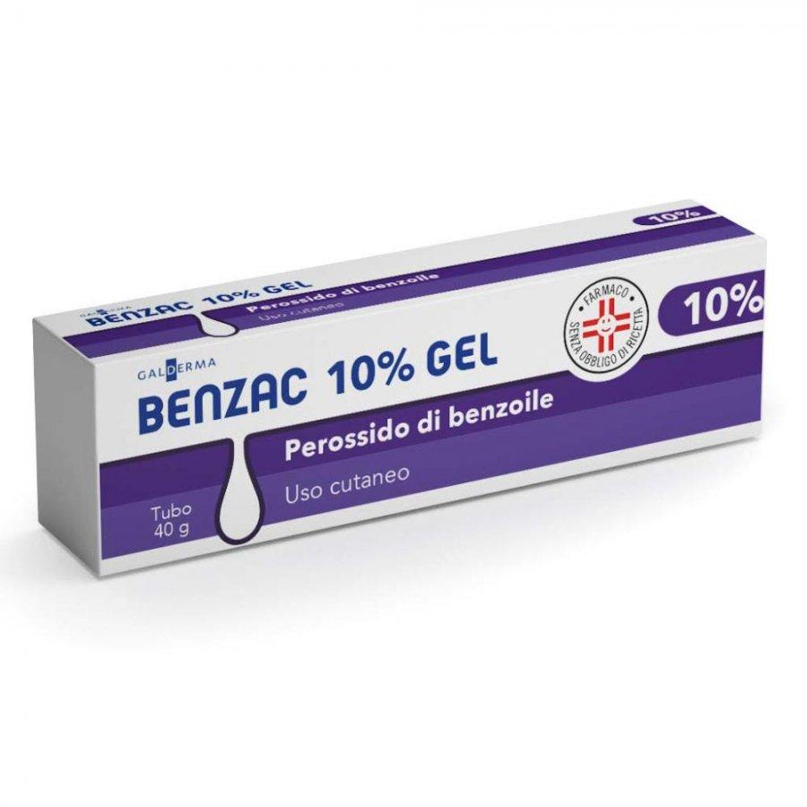 BENZAC AC 10 * GEL 40 G 10%