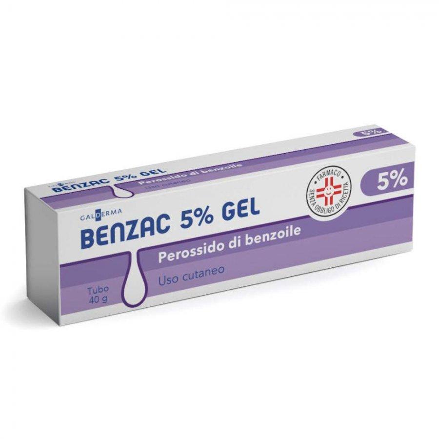 BENZAC AC 5 * GEL 40 G 5%