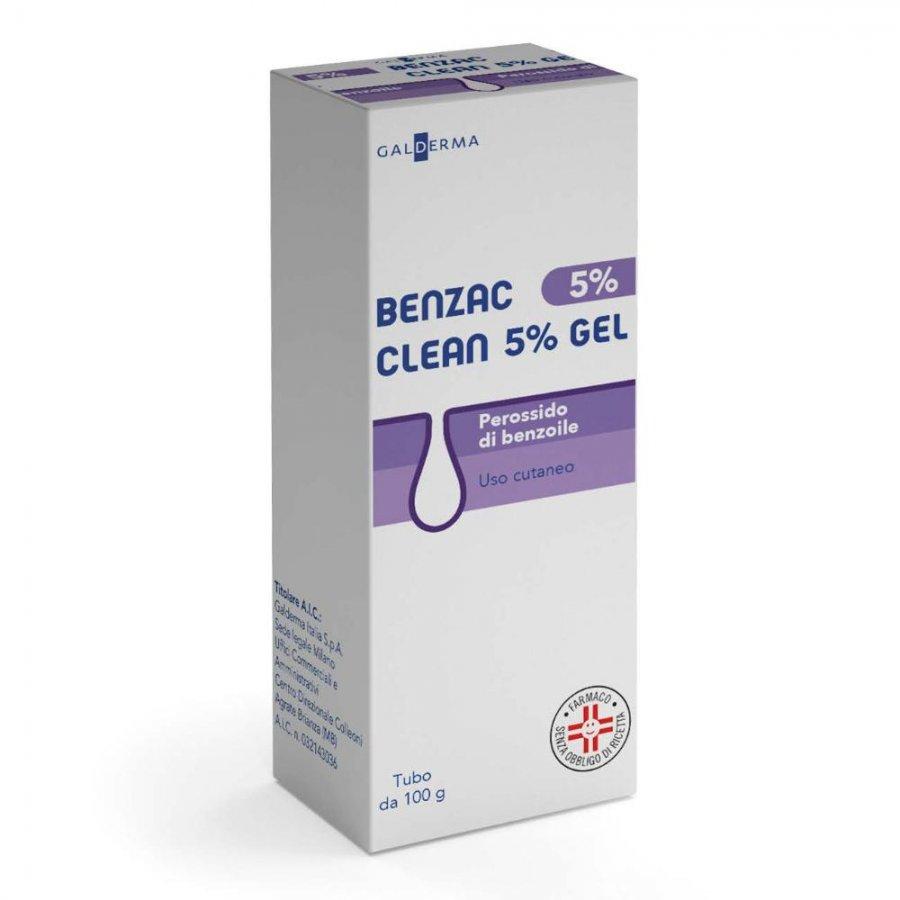 BENZAC AC CLEAN 5 * GEL 100G 5%