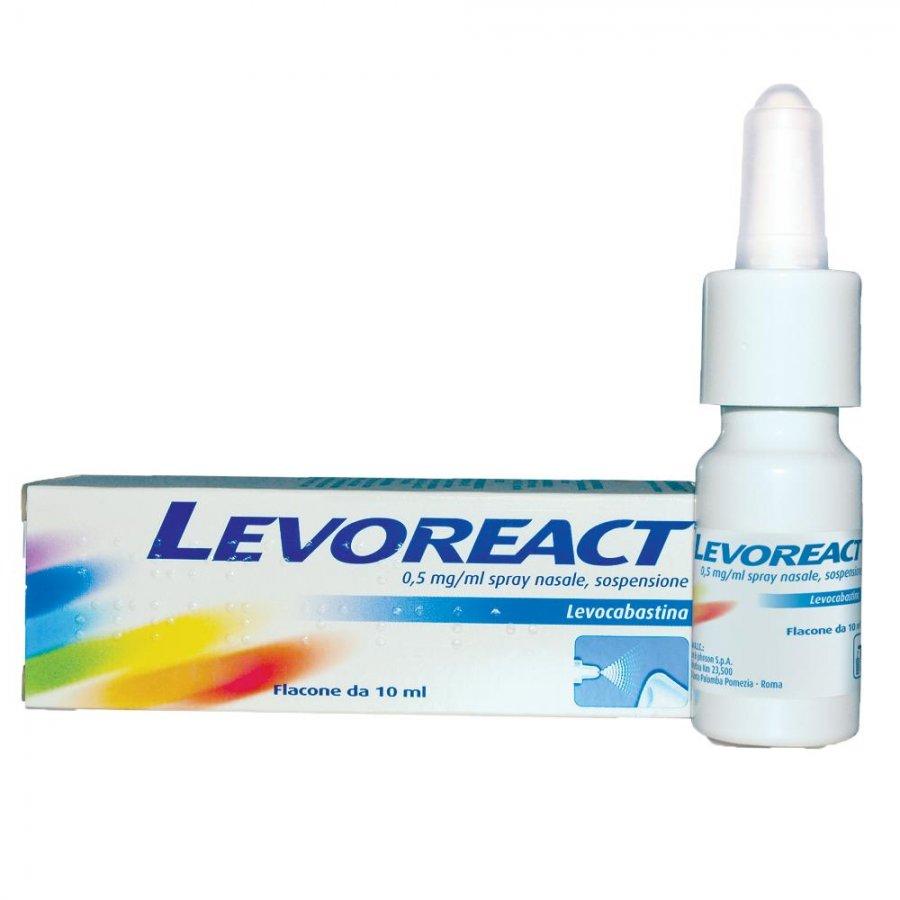 LEVOREACT*SPRAY NASALE 10 ML