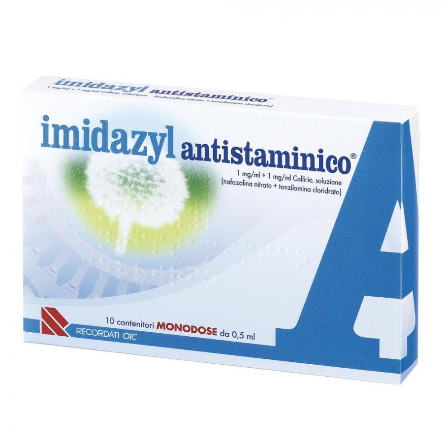 IMIDAZYL ANTISTAMINICO COLLIRIO 10 FLACONI 0,5ML