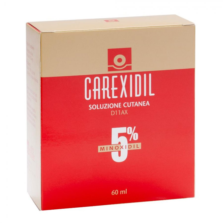 CAREXIDIL*SOLUZ CUT 60ML 5%