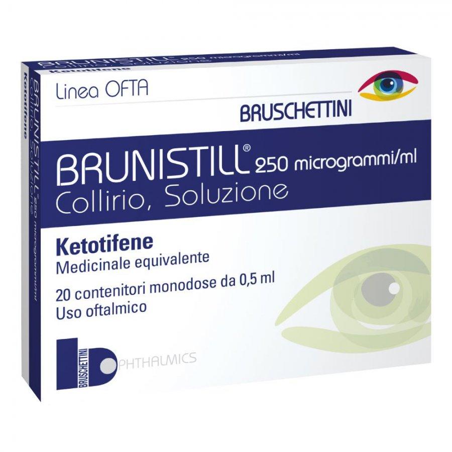 BRUNISTILL*COLL 20FL 0,5ML 0,025