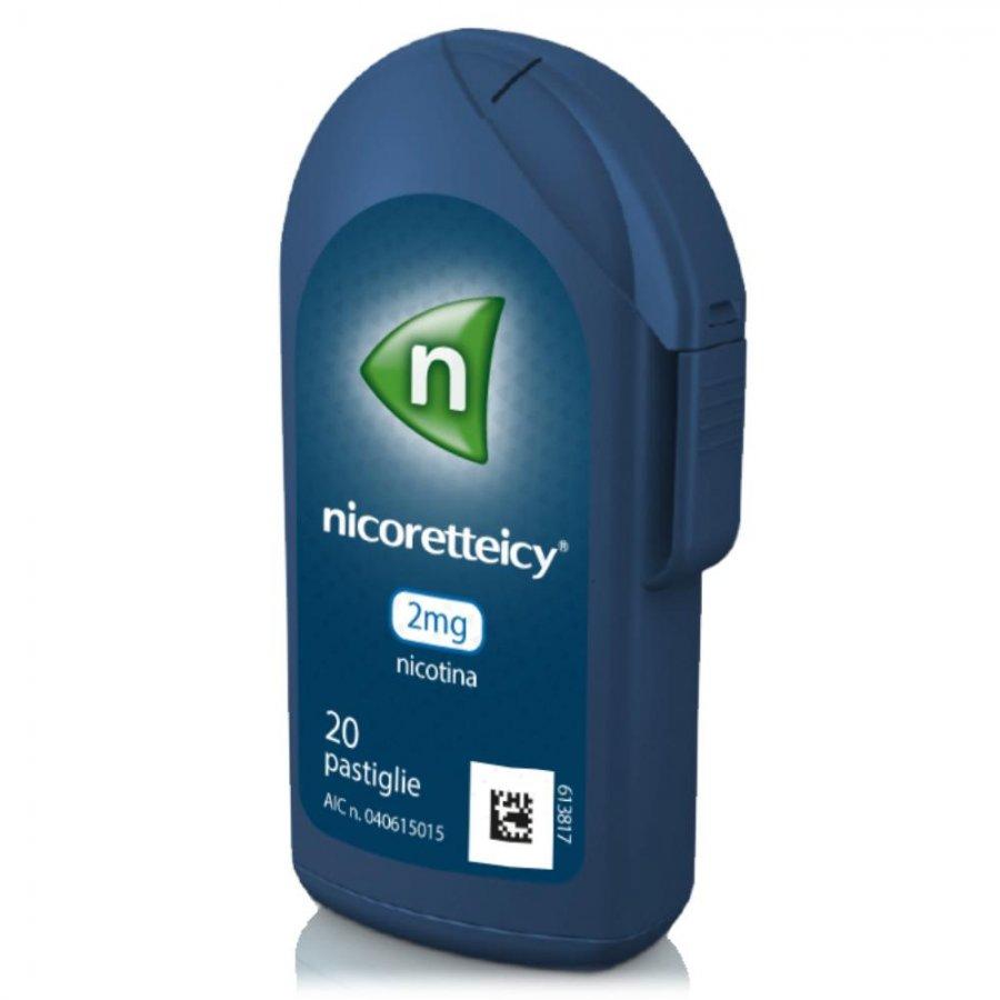 NICORETTE ICY*20PAST 2MG