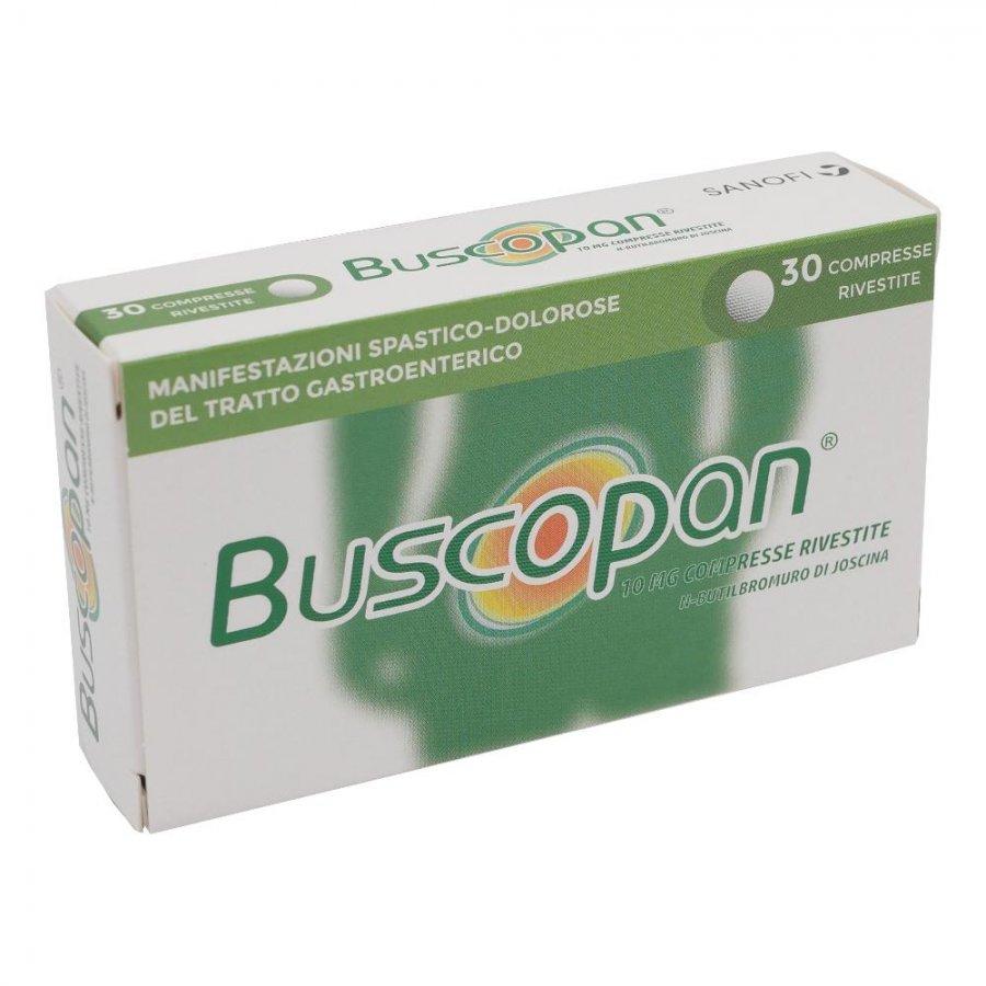 BUSCOPAN*30CPR RIV 10MG GMM