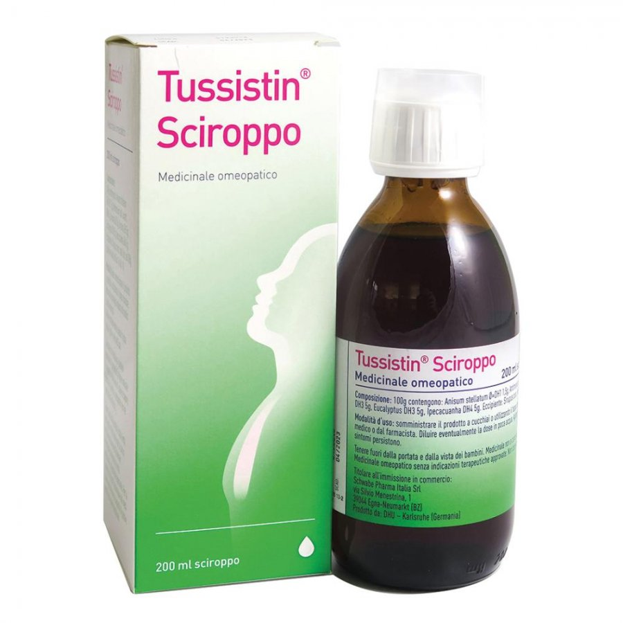 TUSSISTIN Sciroppo 200ml