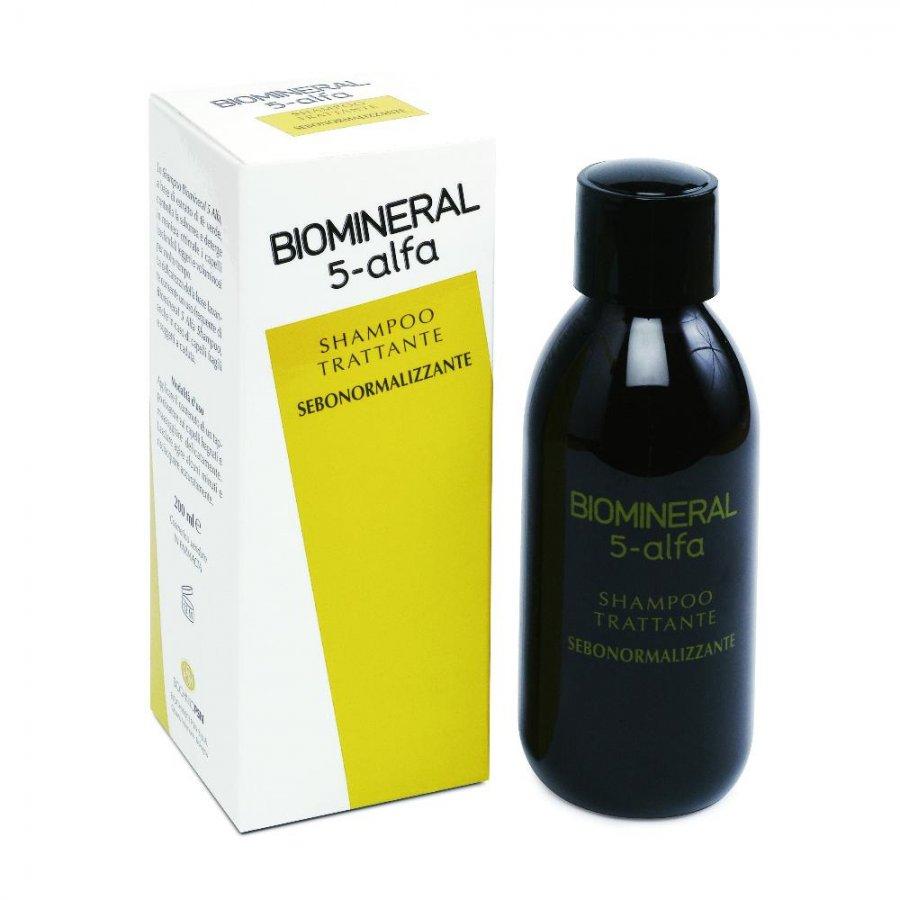 Biomineral Linea Hair Terapy 5-Alfa Shampoo Capelli Deboli 200 ml