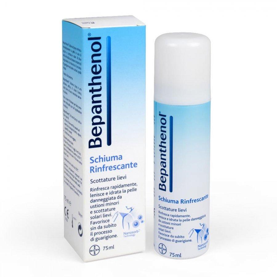 Bepanthenol Linea Bambini Spray 5% Scottature Rigenerante Lenitivo 75 ml
