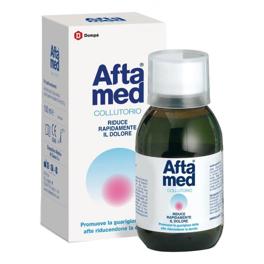 Aftamed Colluttorio Orale Lenitivo Calmante Anti-Irritazioni 150 ml
