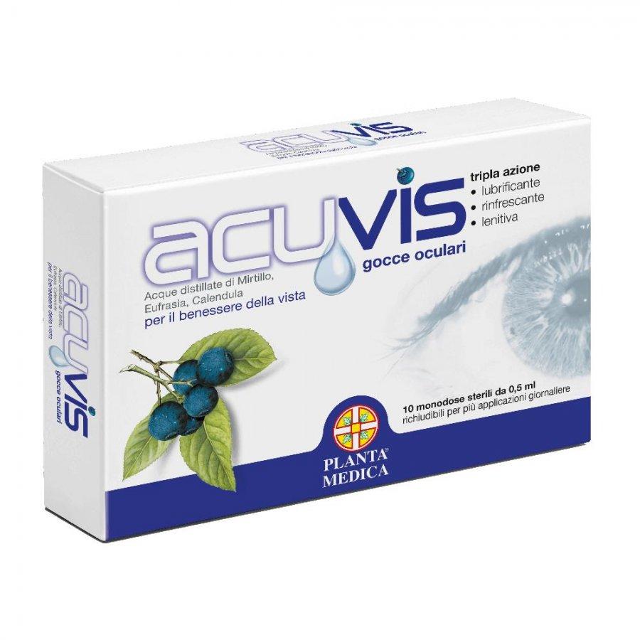 Acuvis Gocce oculari fialette monodose 10 fl