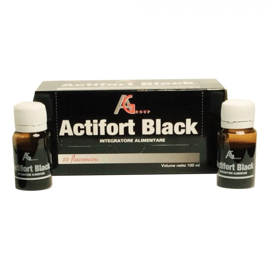 ACTIFORT Black 10fl.10ml