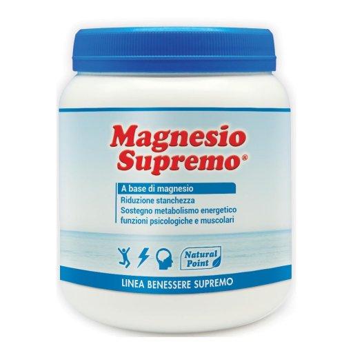 Magnesio Supremo  300 g - Natural Point - integratore alimentare - Linea Vitamine e Minerali
