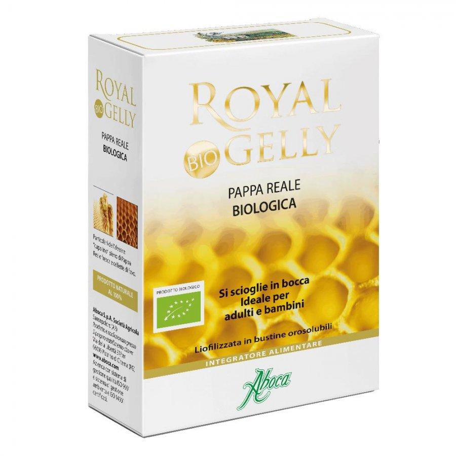 Aboca Naturaterapia Linea Tono ed Energia Royalgelly Pappa Reale 16 Bustine