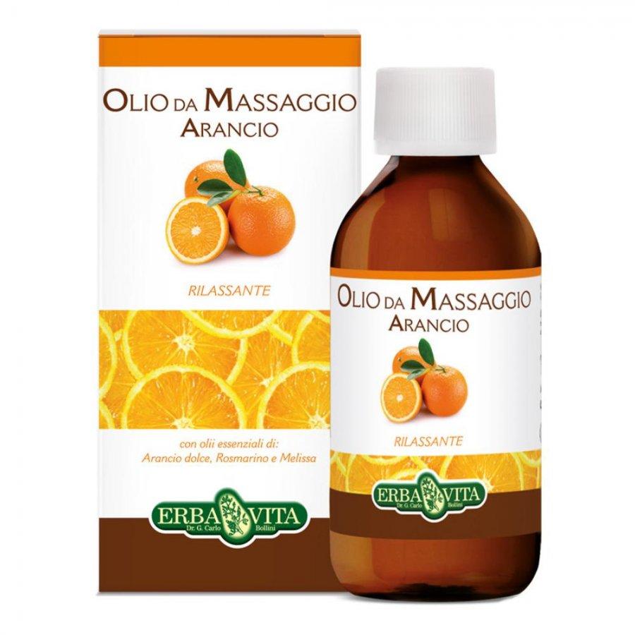 Olio Massaggio Arancio 250 ml - Erba Vita