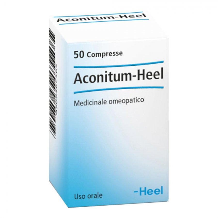 Aconitum - Heel 50 Tavolette tav.