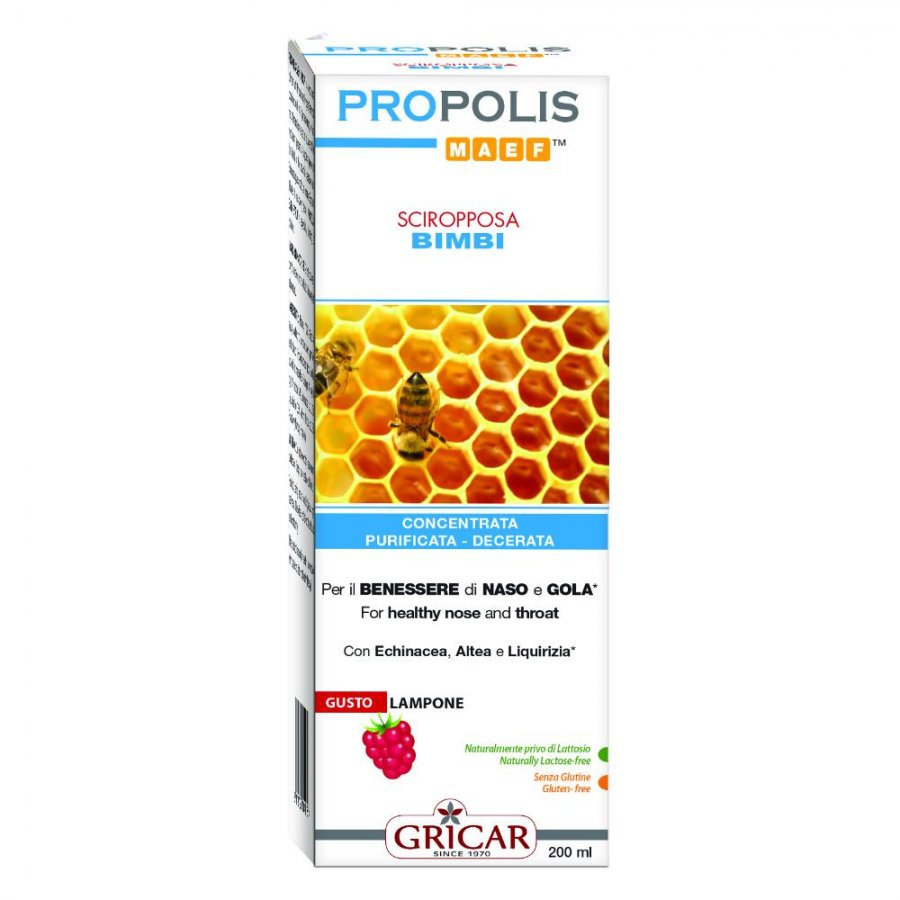 """PROPOLI SCIR.BB 200ML """"GRICAR"""