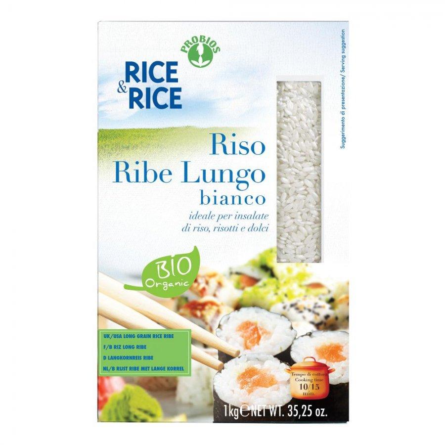 R&R Riso Lungo Ribe Bianco 1Kg