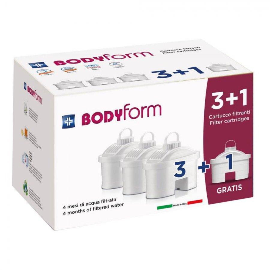 BODYFORM Cartucce Filtranti F4P 4pz