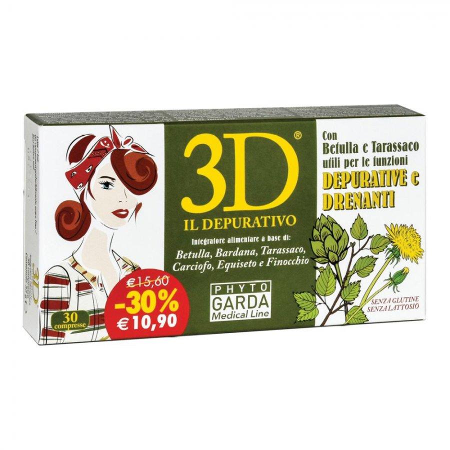 3D Drena Depura 30 Compresse