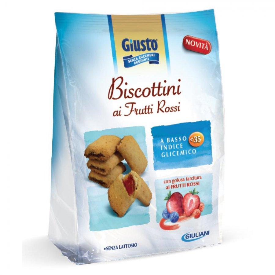 GIUSTO S/Z Biscotti Frutti Rossi 225g