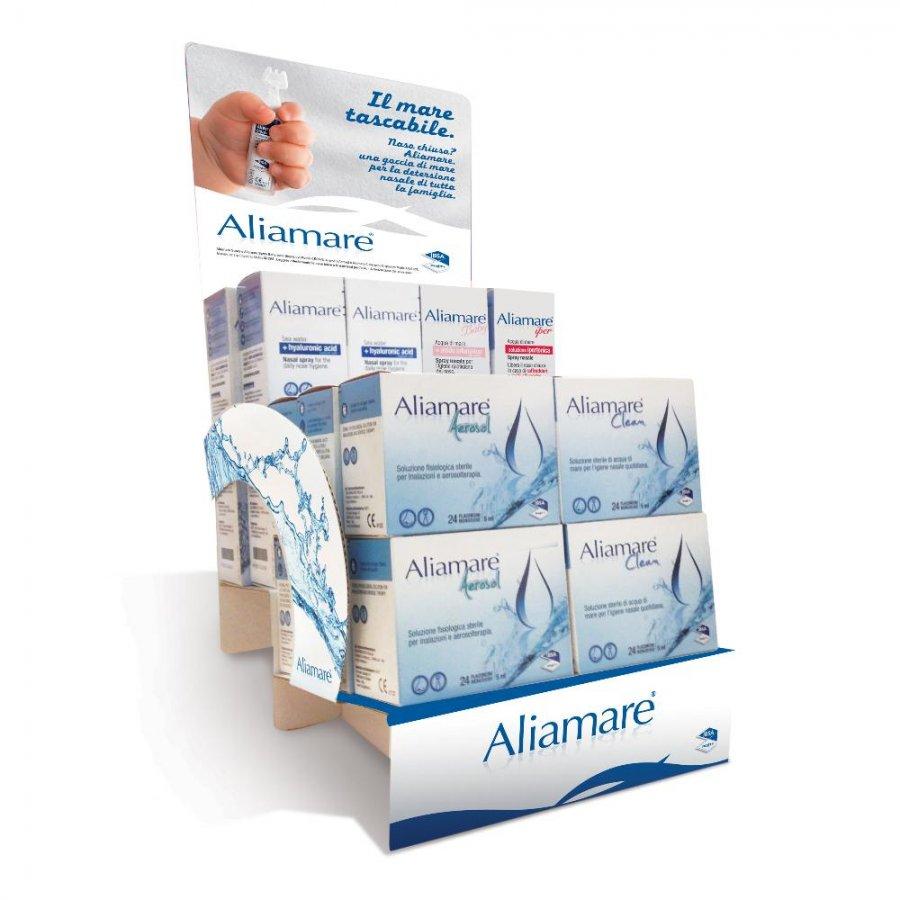 ALIAMARE CLEAN 24 fiale 5ml Soluzione Fisiologica Sterile -  IBSA FARMACEUTICI ITALIA  - Igiene Nasale