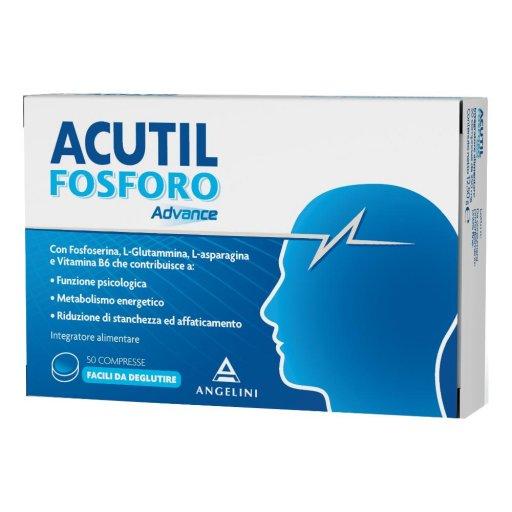 Acutil Fosforo Linea Advance - Integratore Alimentare  - 50 Compresse