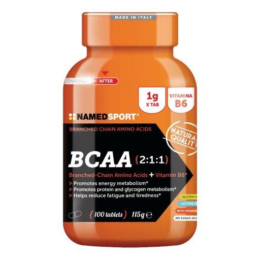 Named Sport BCAA 2:1:1 - Integratore Alimentare 100 Compresse