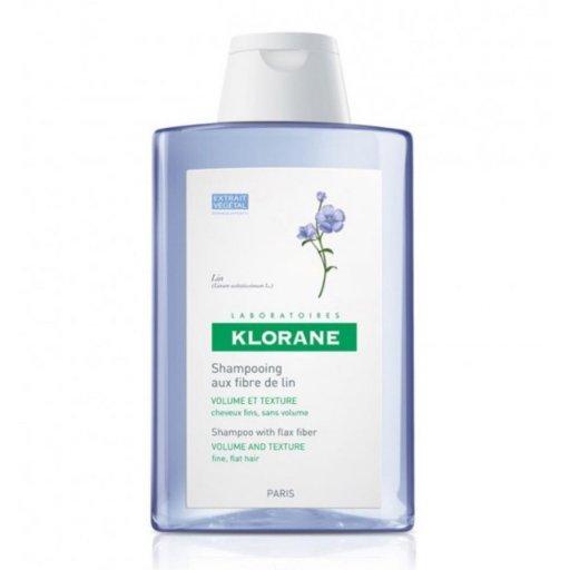 Klorane - Shampoo Fibre Di Lino 400ml