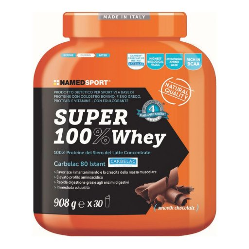 Named Sport - Super 100% Whey Smooth Chocolate  - 908g