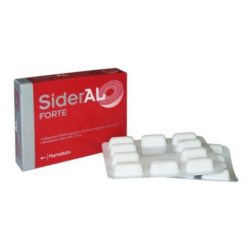 Sideral forte 20 capsule - Pharmanutra - integratore di ferro liposomiale e vitamina c