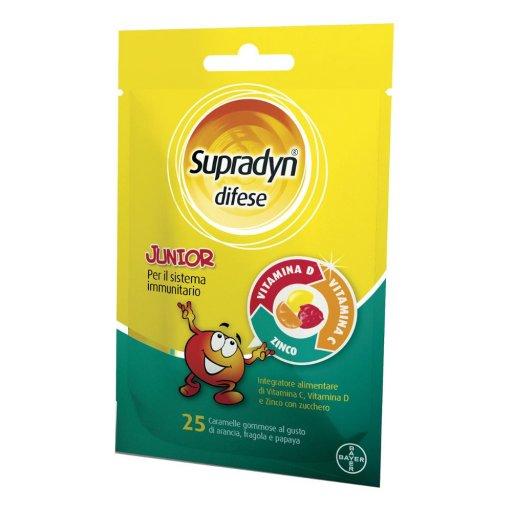 Supradyn difese junior - 25 caramelle gommose - Per le difese immunitarie