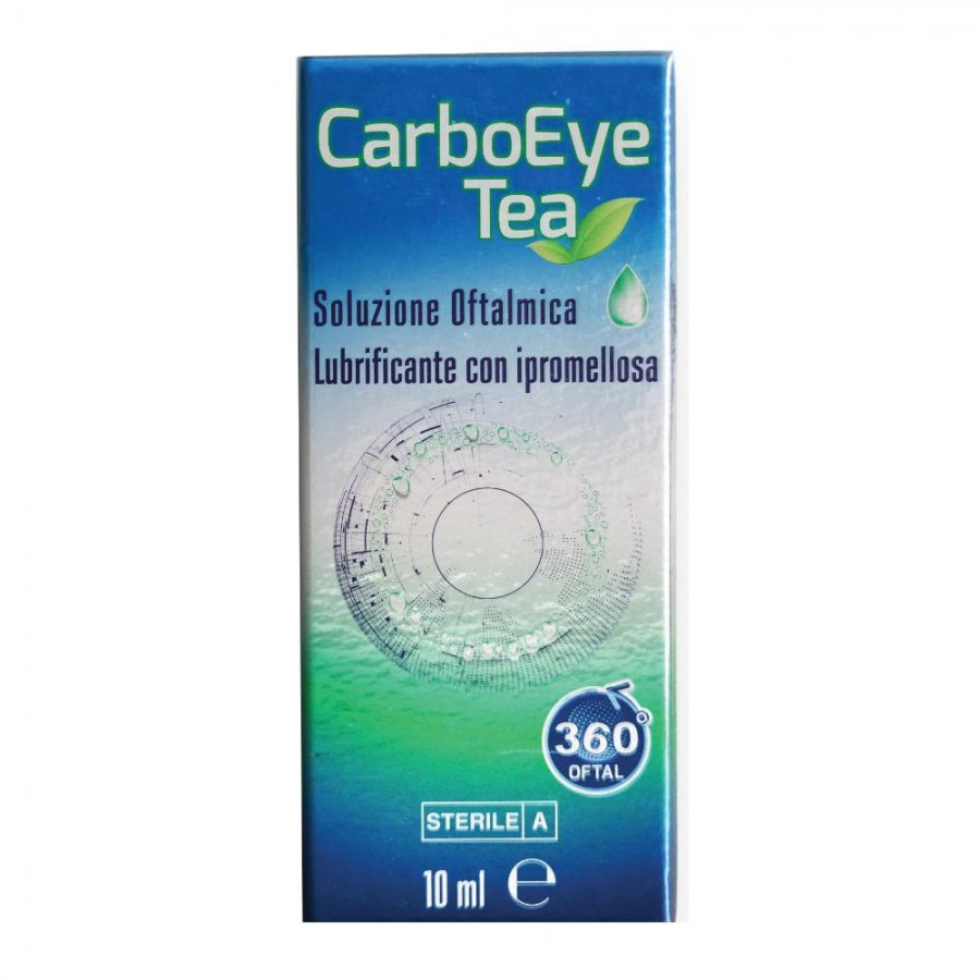 360 IN MEDICINA Carboeye Tea Soluzione Oftalmica 10ml