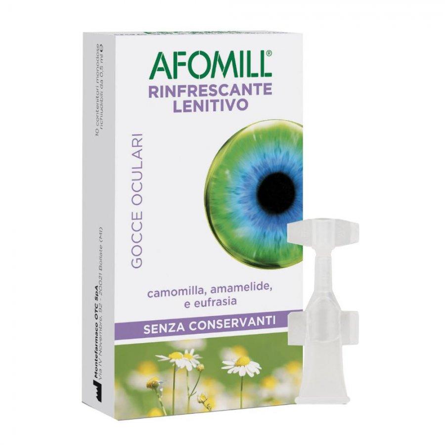 Afomill Rinfrescante - Gocce oculari - 10 Fiale Da 0,5ml