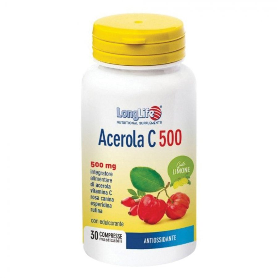 LONGLIFE Acerola C500 30 Tav.