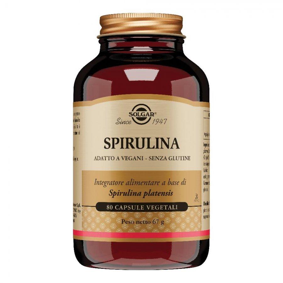 SPIRULINA 80 Cps. SOLGAR