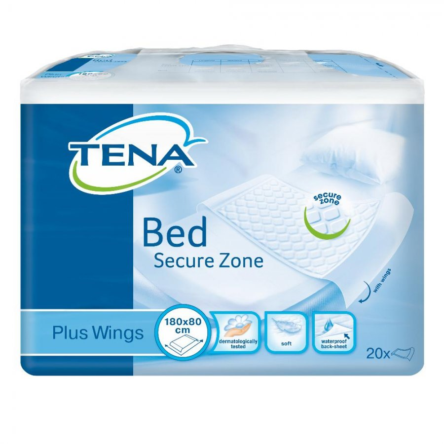 Essity Italy Tena Bed Traversa Plus 80x180cm 20 Pezzi